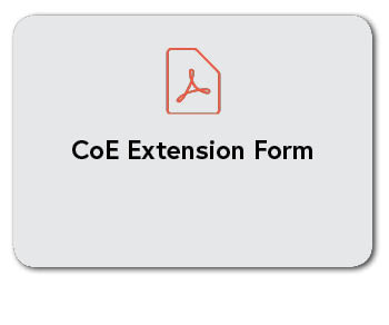 CoE Extension Form