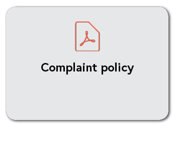 Complaint policy