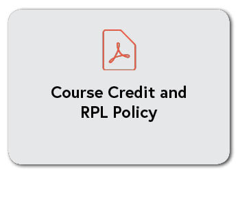 Course Credit and RPL Policy