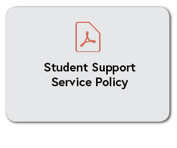 Student Support Service Policy